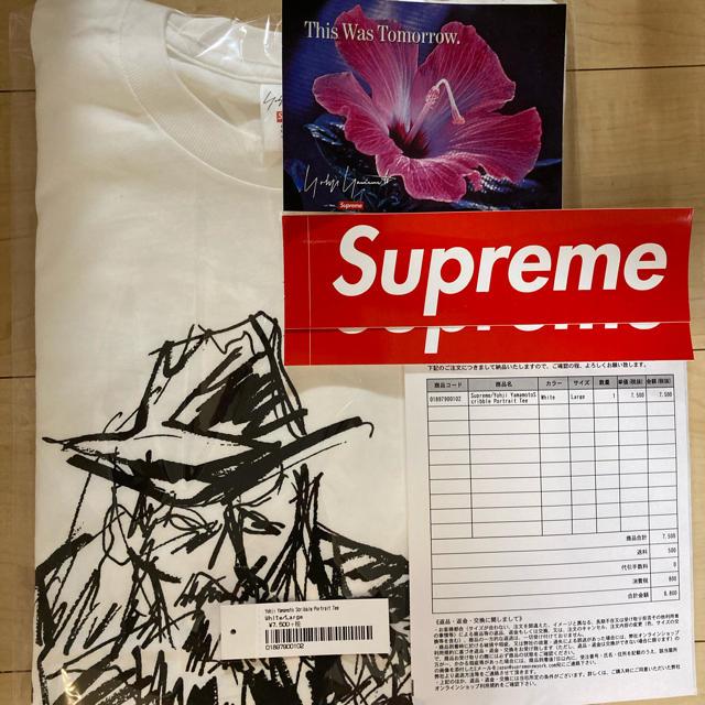 Yohji Yamamoto Scribble Portrait Tee メンズのトップス(シャツ)の商品写真