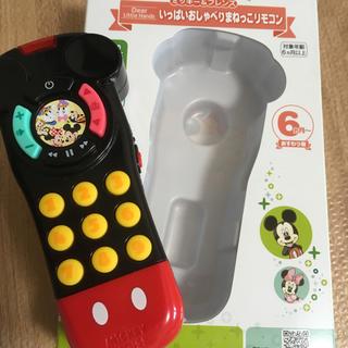 Disney - ミッキー リモコン ベビー玩具 知育玩具