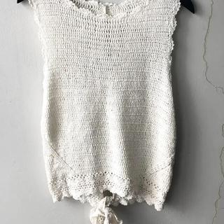 EDIT.FOR LULU - cotton crochet top