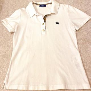 バーバリーブルーレーベル(BURBERRY BLUE LABEL)の バーバリーブルーレーベル💗ポロシャツ(ポロシャツ)
