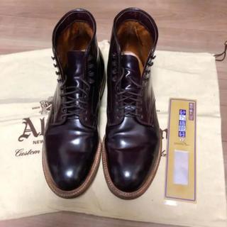 Alden - 稀少 アナトミカ別注 オールデン コードバン ブーツ 45660H US9D