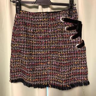 セシルマクビー(CECIL McBEE)のココディールツイードミニスカートs(ミニスカート)