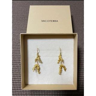 アリシアスタン(ALEXIA STAM)の美品☆送料無⭐︎alexia stam Coral Earrings gold(ピアス)