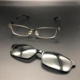 Zoff - 即決 Zoff ゾフ ZY192G05A 眼鏡 メガネ サングラス付き