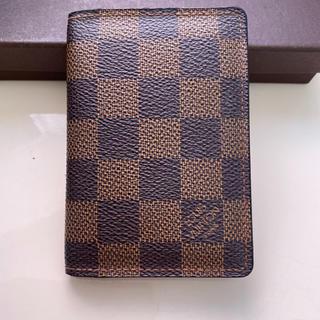 LOUIS VUITTON - 正規品ルイヴィトンダミエ名刺入れ カードケース