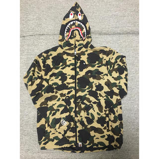 A BATHING APE - A BATHING APE 1ST CAMO シャークジップパーカー