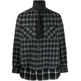 サカイ(sacai)のsacai レイヤードシャツ サイズ3(シャツ)