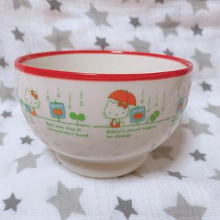 ハローキティ(ハローキティ)のハローキティ vivitix限定 トマトシリーズ お茶碗 レトロ 激レア(食器)