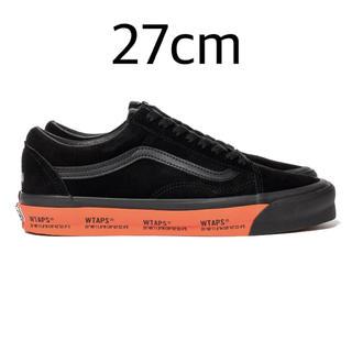 W)taps - vans wtaps old skool black orange 27cm