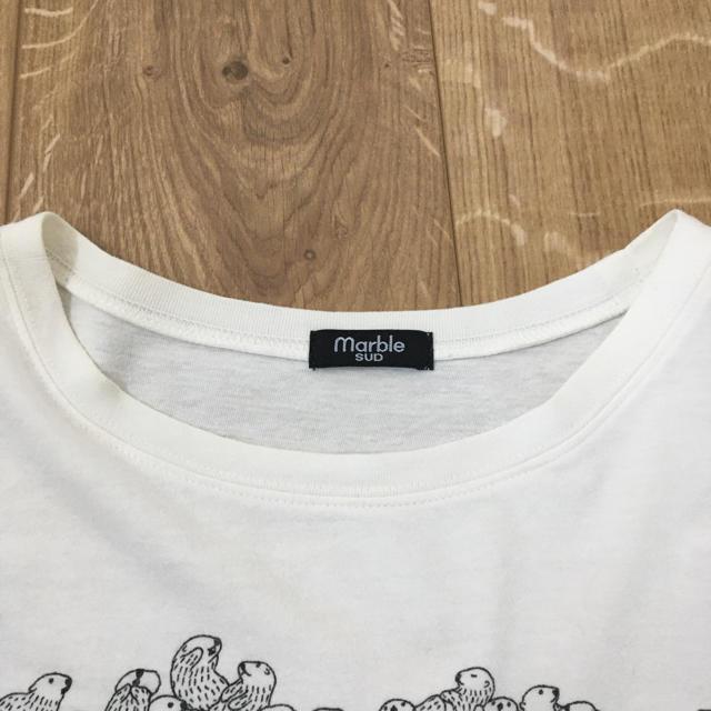 マーブルシュッド marble SUD flow Tシャツ レディースのトップス(Tシャツ(半袖/袖なし))の商品写真
