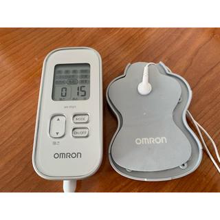 オムロン(OMRON)のよし様専用オムロン OMRON 低周波治療器 HV-F021-SL [シルバー](マッサージ機)