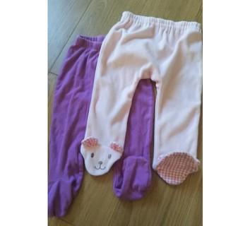 ベビーギャップ(babyGAP)の足付 ズボン タイツ 60 70 GAP  baby(パンツ)