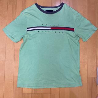 トミーヒルフィガー(TOMMY HILFIGER)の90s TOMMY HILFIGER ビッグロゴ tシャツ(Tシャツ/カットソー(半袖/袖なし))