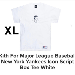 Supreme - Kith New York Yankees Icon Tee White L