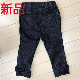 babyGAP - 【新品】ベビーギャップ ラメ入り パンツ ブラック 95cm