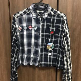 ディーゼル(DIESEL)のDIESEL チェックシャツ(シャツ/ブラウス(半袖/袖なし))