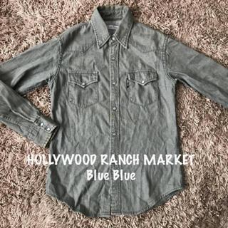 ハリウッドランチマーケット(HOLLYWOOD RANCH MARKET)のHOLLYWOOD RANCH MARKET  Blue Blue   デニム(シャツ/ブラウス(長袖/七分))