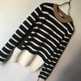 フレイアイディー(FRAY I.D)のFRAY.D⭐︎配色セーター(ニット/セーター)