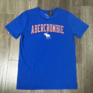 Abercrombie&Fitch - abercrombiekids アバクロンビーロゴ刺繍TシャツUS13/14新品