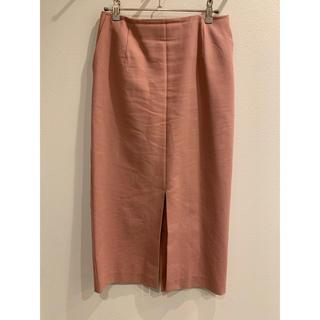 デミルクスビームス(Demi-Luxe BEAMS)のデミルク ピンクタイトスカート(ひざ丈スカート)