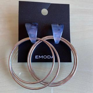 エモダ(EMODA)のEMODA フープピアス(ピアス)