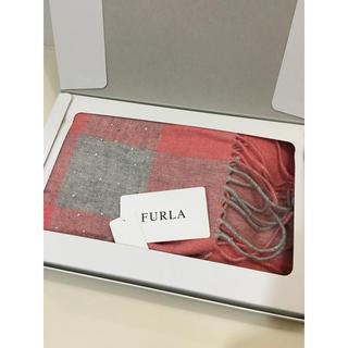 フルラ(Furla)の新品 未使用 FURLA フルラ  マフラー  ストール  ラインストン (マフラー/ショール)