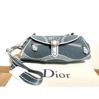 クリスチャンディオール(Christian Dior)の極美品 クリスチャンディオール Dior ショルダーバッグ ロゴグラム 箱付き(ショルダーバッグ)