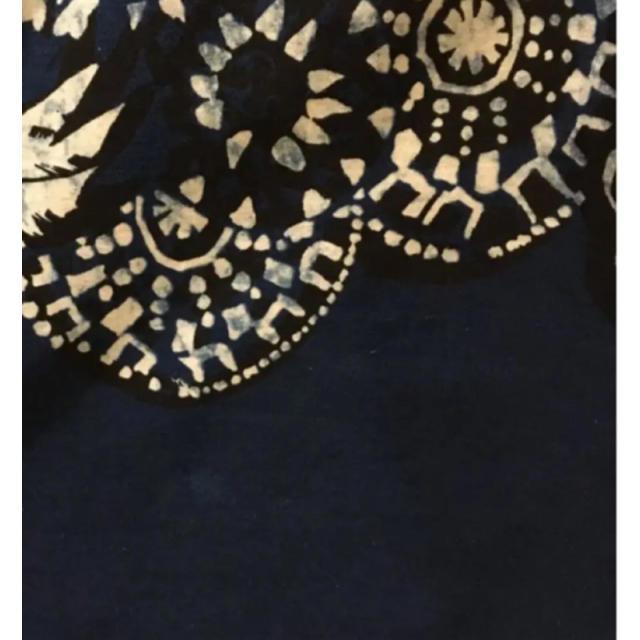 45R(フォーティファイブアール)の45R インディゴ ブラウス レディースのトップス(シャツ/ブラウス(半袖/袖なし))の商品写真
