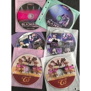 ウェストトゥワイス(Waste(twice))のTWICE&BLACKPINK 6枚セット お買い得!!高画質 最新LIVE(K-POP/アジア)