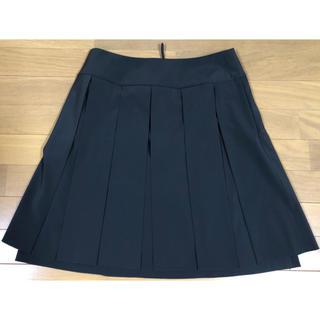 フォクシー(FOXEY)のフォクシー NY パネルスカート グレー 2、3回使用(ひざ丈スカート)