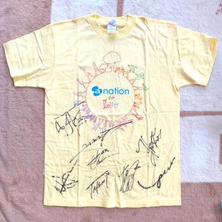 a-nation 直筆サイン入り Tシャツ(サイン)