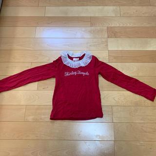 Shirley Temple - シャーリーテンプル カットソー 赤 140cm