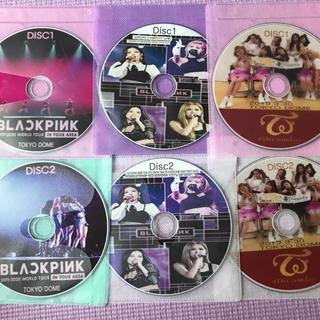 ウェストトゥワイス(Waste(twice))のTWICE&BLACKPINK 6枚セット お買い得!!高画質 最新LIVE(アイドル)