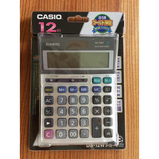 カシオ(CASIO)のカシオ CASIO ★ 電卓 ★ DS-12WT-N(オフィス用品一般)