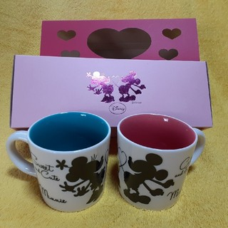 Disney - ディズニーペアマグカップ