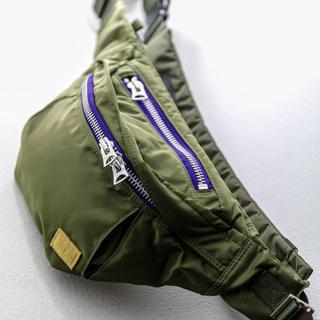 サカイ(sacai)のsacai × porter 20SS バムバッグ ウエストバッグ(ボディーバッグ)