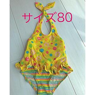 ミキハウス(mikihouse)のMIKIHOUSE 水着サイズ80 女の子(水着)