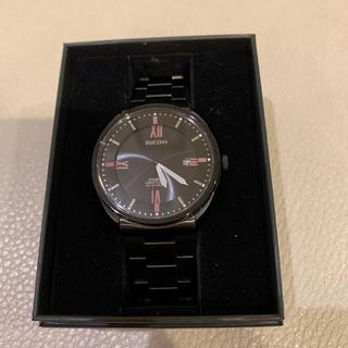 リコー(RICOH)の未使用の RICOH のソーラー時計です。(腕時計(アナログ))