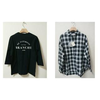 コーエン(coen)の今季 新品 コーエン ロゴT  アースミュージックシャツ 二点おまとめ(Tシャツ(長袖/七分))