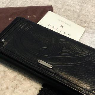 セリーヌ(celine)の【CELINE】価格交渉可/長財布 ブラック ヴィンテージ(財布)