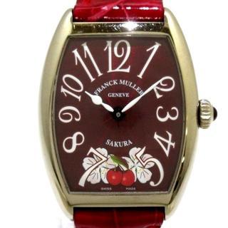 フランクミュラー(FRANCK MULLER)のフランクミュラー 腕時計 7502QZ ボーイズ(腕時計)