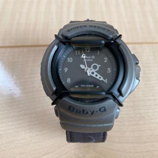 カシオ(CASIO)のCASIO Baby-G 腕時計 黒に近いグレーがシックなBaby-G(腕時計)