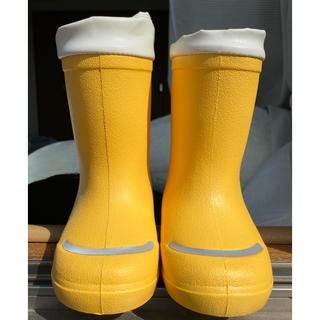 ムジルシリョウヒン(MUJI (無印良品))のレインブーツ 無印良品 15-16cm(長靴/レインシューズ)