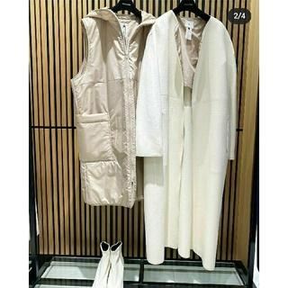 DOUBLE STANDARD CLOTHING - 【新品タグ付き】ダブルスタンダードクロージング ダブルビーバーウールコート 36