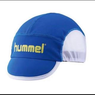 ヒュンメル(hummel)の送料無料 新品 hummel ヒュンメル ジュニアフットボールキャップ ブルー(帽子)