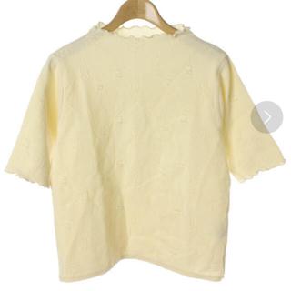 ドットアンドストライプスチャイルドウーマン(Dot&Stripes CHILDWOMAN)のメロウ チューリップ カットソー(Tシャツ/カットソー(半袖/袖なし))