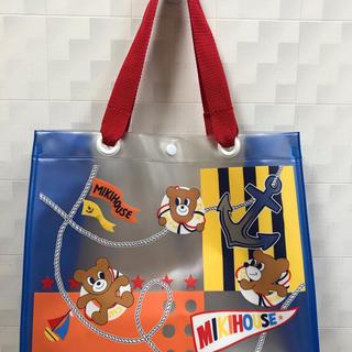 ミキハウス(mikihouse)のビニールバックとペットボトルケース(ショルダーバッグ)