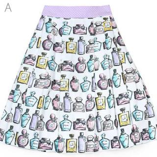 ミルク(MILK)のMILK Perfumeハートスカート(ひざ丈スカート)
