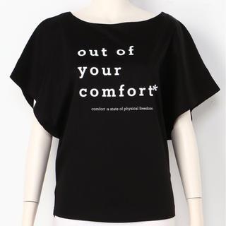 スナイデル(snidel)の最終!新品タグ付きsnidelモードロゴTシャツ(Tシャツ(半袖/袖なし))