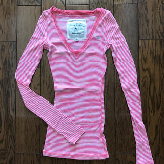 アバクロンビーアンドフィッチ(Abercrombie&Fitch)のロングTシャツ(Tシャツ(長袖/七分))